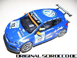 Carrera Car Racing Scirocco